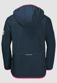 Jack Wolfskin - FOURWINDS  - Soft shell jacket - midnight blue - 1