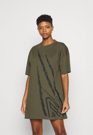 CLAW DRESS - Vestito di maglina - army