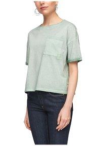 Q/S designed by - Basic T-shirt - mint - 3