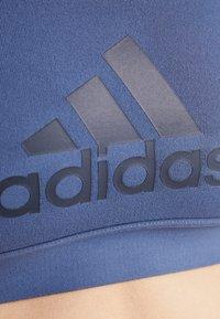 adidas Performance - CLIMACOOL WORKOUT BRA - Sport BH - dark blue - 5