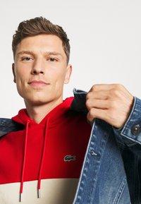 Lacoste - Sweatshirt - red/viennese/navy blue - 4