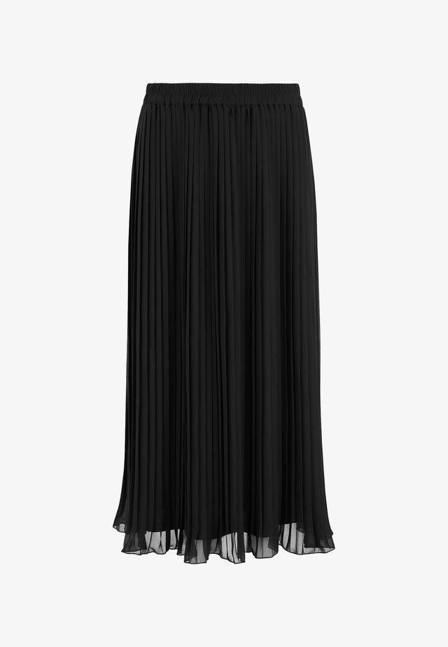 FINA - Spódnica trapezowa - black