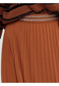 ONLY - Pleated skirt - ginger bread - 5