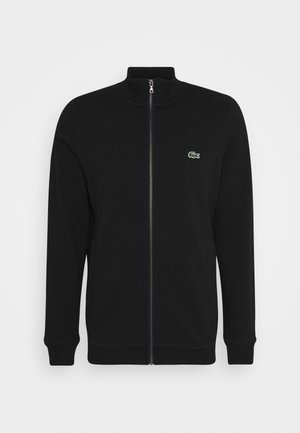 Zip-up hoodie - noir