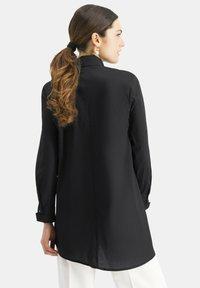 Nicowa - NIBOWA - Button-down blouse - schwarz - 2