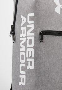 Under Armour - PATTERSON BACKPACK - Rucksack - steel medium heather/black/white - 4