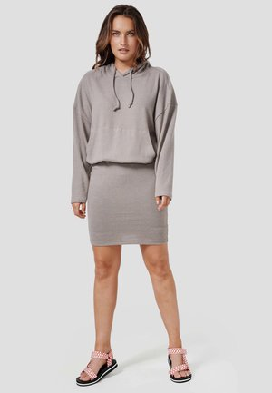 WEGA - Jumper dress - new taupe melange