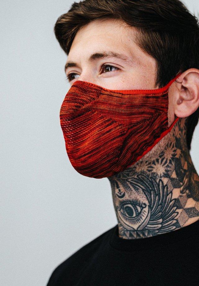 Masque en tissu - orange