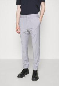 HUGO - HOWARD - Trousers - silver - 0