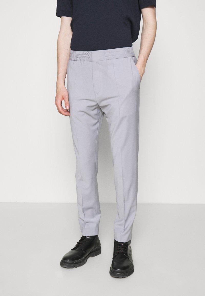 HUGO - HOWARD - Trousers - silver