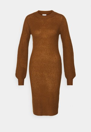 VIFESTA DRESS - Jumper dress - toffee