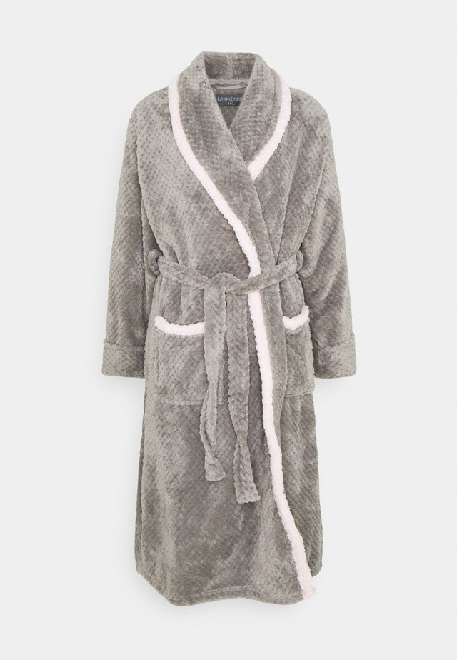 ROBE - Morgonrock - grey