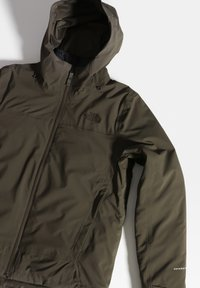 The North Face - W MOUNTAIN LIGHT FL TRICLIMATE JACKET - Kurtka do biegania - new taupe green/tnf black - 4