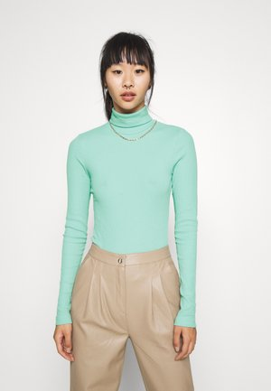 VERENA TURTLENECK - Long sleeved top - dusty blue