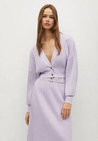 Mango - KATYA - Cardigan - purple - 0