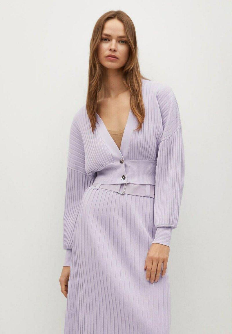 Mango - KATYA - Cardigan - purple
