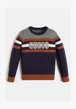 Sweater - mehrfarbig grundton blau