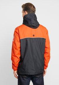 Timberland - HOODY - Windbreaker - spicy orange/black - 2