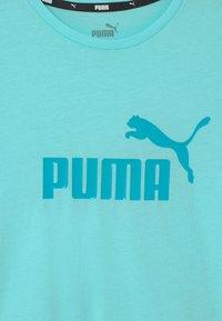 Puma - LOGO TEE UNISEX - Triko spotiskem - island paradise - 2
