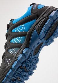 Hi-Tec - WARRIOR - Hiking shoes - black/blue - 5