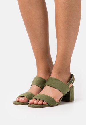 PURE - Sandals - schwarz