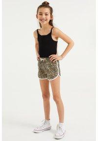 WE Fashion - 2-PACK - Shorts - black - 0