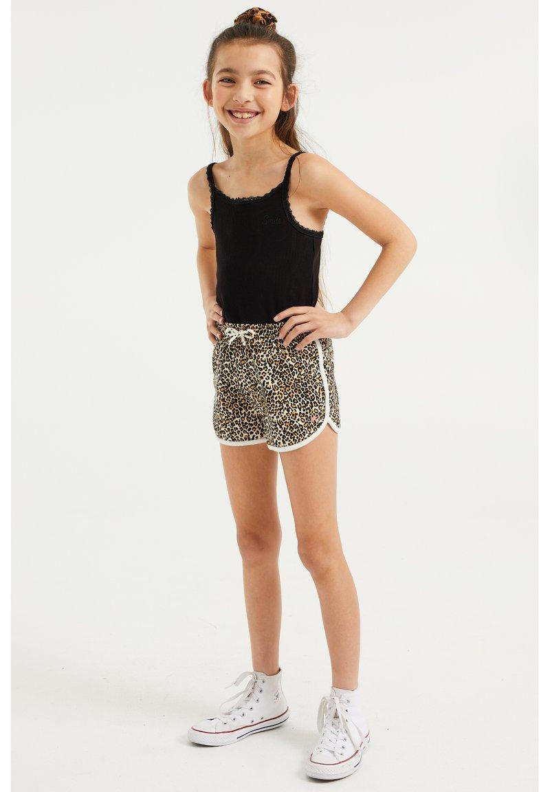 WE Fashion - 2-PACK - Shorts - black