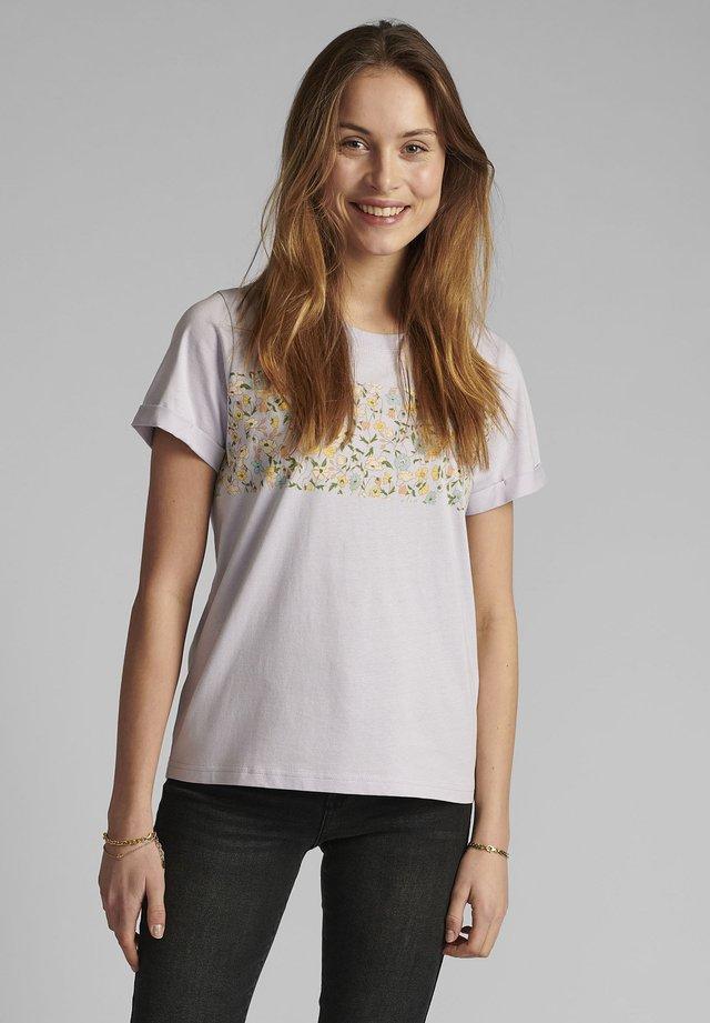 T-shirt imprimé - orchid petal