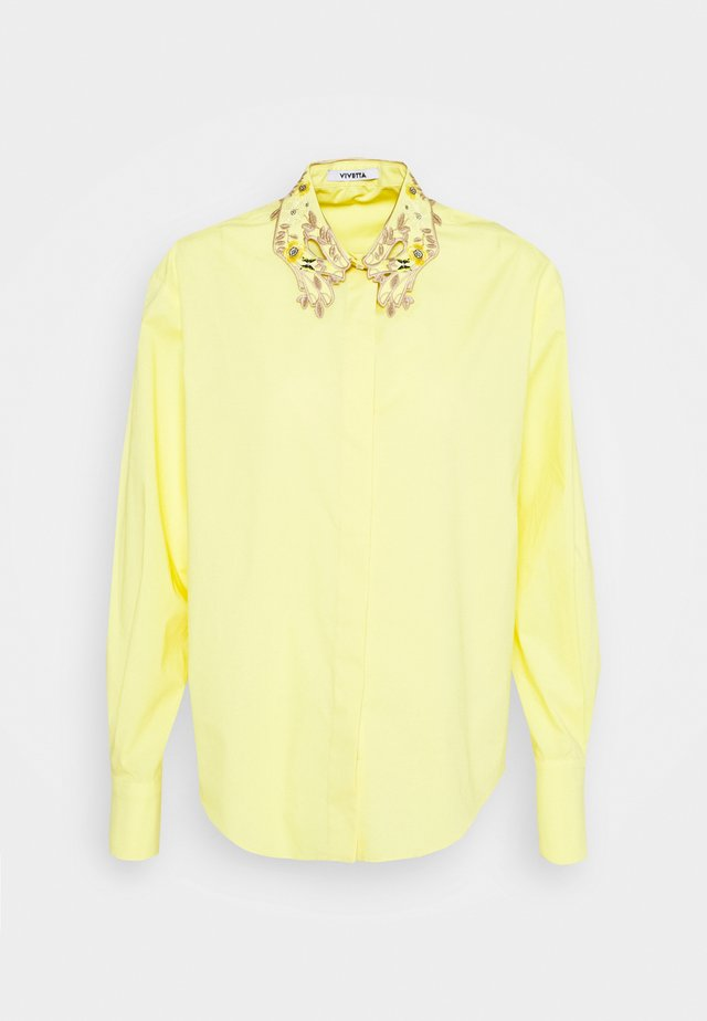 Button-down blouse - giallo