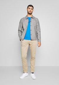 Esprit - LOGO - Print T-shirt - bright blue - 1