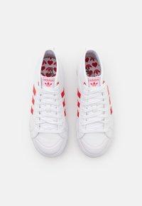 adidas Originals - NIZZA PLATFORM  - High-top trainers - footwear white/scarlet red - 7