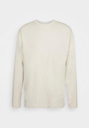 Långärmad tröja - antique white