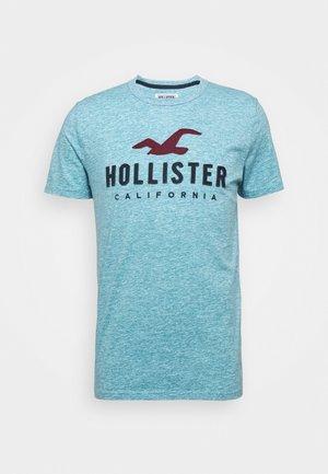CORE TECH - Print T-shirt - light blue