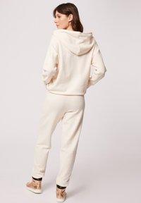 Morgan - Hoodie - white denim - 2