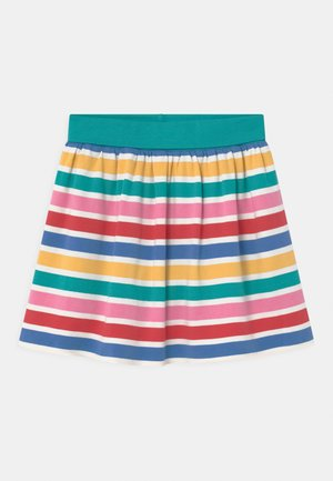 LUNA  RAINBOW STRIPE - Mini skirt - multi-coloured