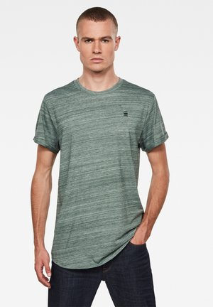 LASH - Print T-shirt - jungle htr