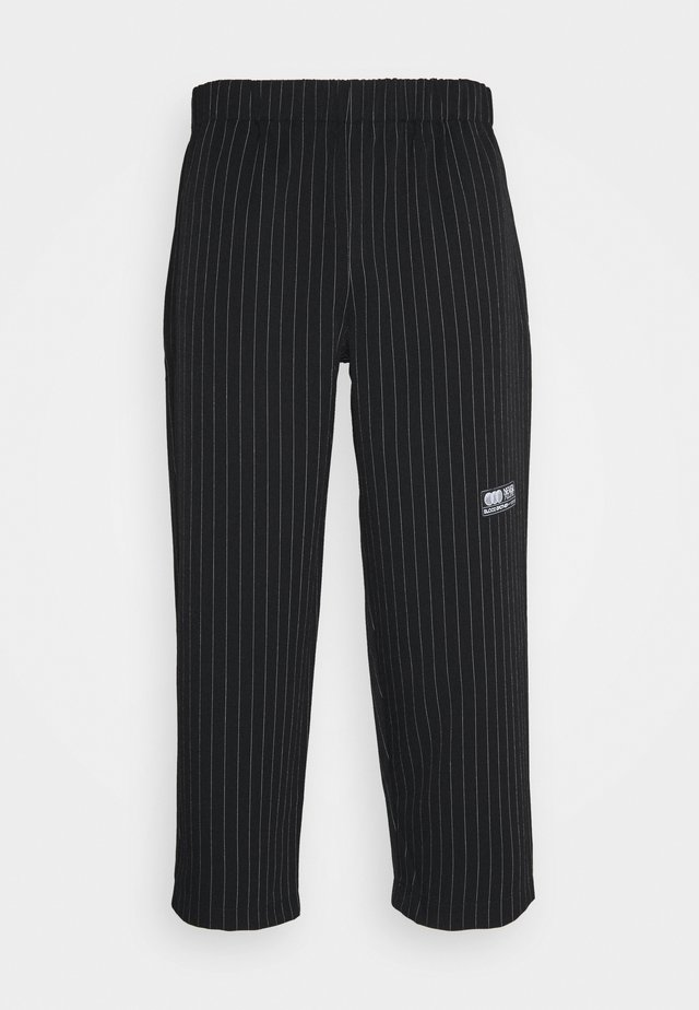 STAMFORD TROUSERS - Tygbyxor - black