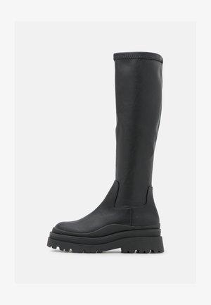 MAJORR - Platform boots - other black