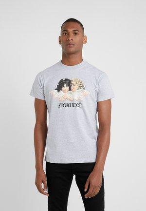 VINTAGE ANGELS - Print T-shirt - grey