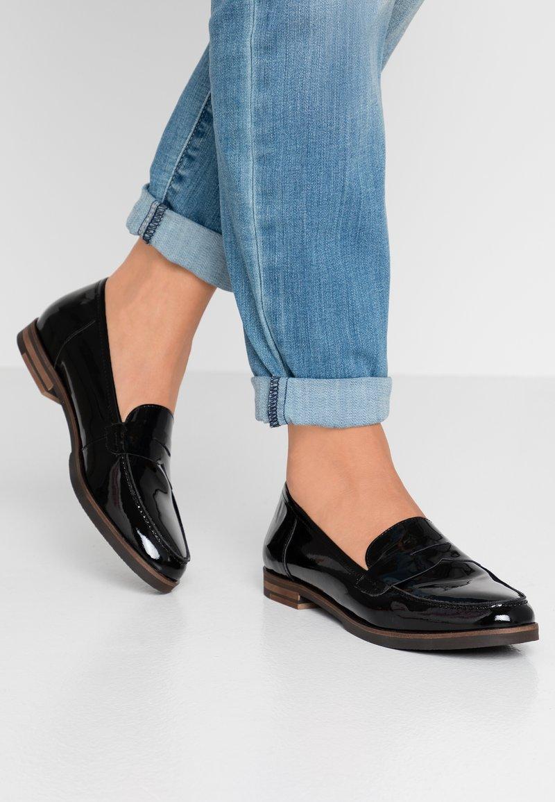 San Marina - MAIRESSE - Slippers - black