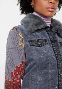 Desigual - CHAQ_PANA - Denim jacket - black - 3