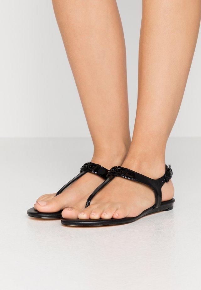 SHAMARY - T-bar sandals - black