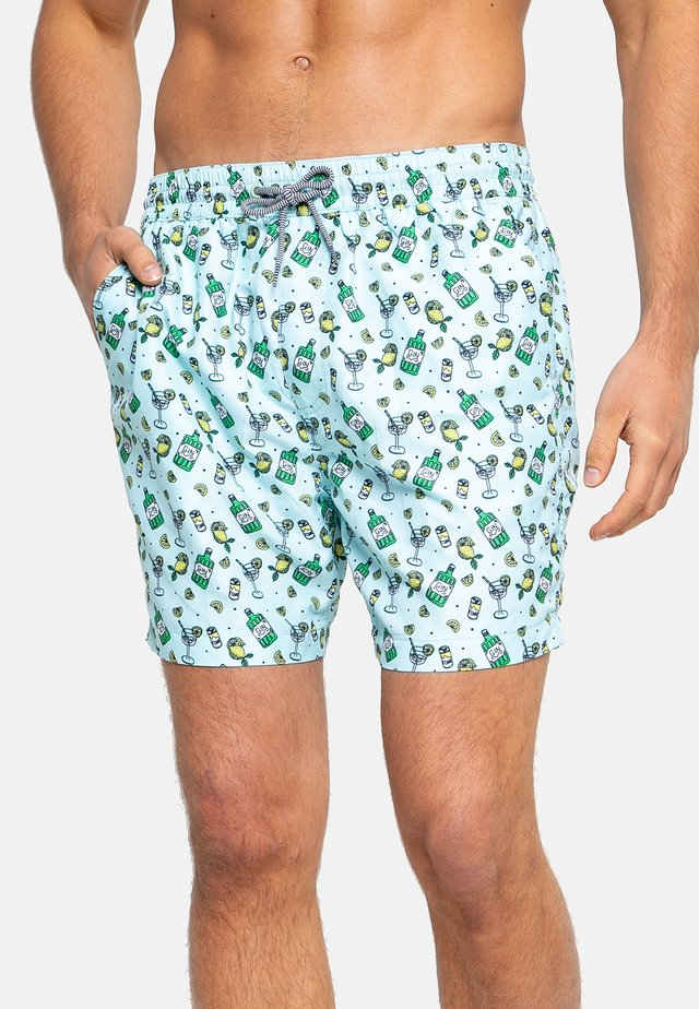 Shorts da mare - blau