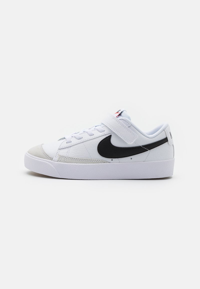 Nike Sportswear - BLAZER '77 UNISEX - Baskets basses - white/black/team orange