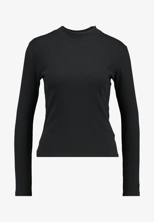 PENNY MOCKNECK - Long sleeved top - caviar