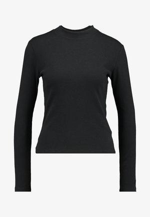 PENNY MOCKNECK - T-shirt à manches longues - caviar