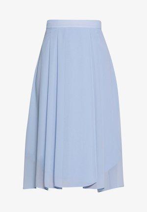 A-line skirt - blue lavender