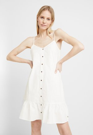 LOOSE FIT MINI DRESS - Shirt dress - off white