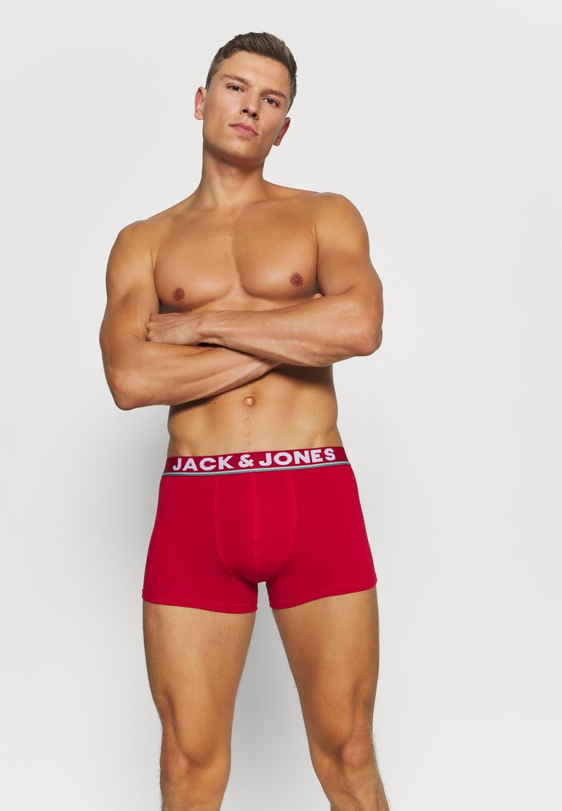 Jack & Jones - JACCOLORFUL LINE TRUNKS 5 PACK - Culotte - surf the web/viridian/chili/cascade
