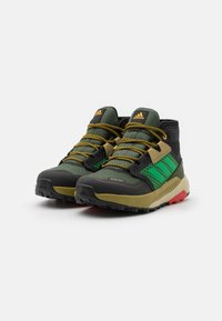 adidas Performance - TERREX TRAILMAKER MID R.RDY UNISEX - Hiking shoes - wild pine/vivid green/vivid red - 1